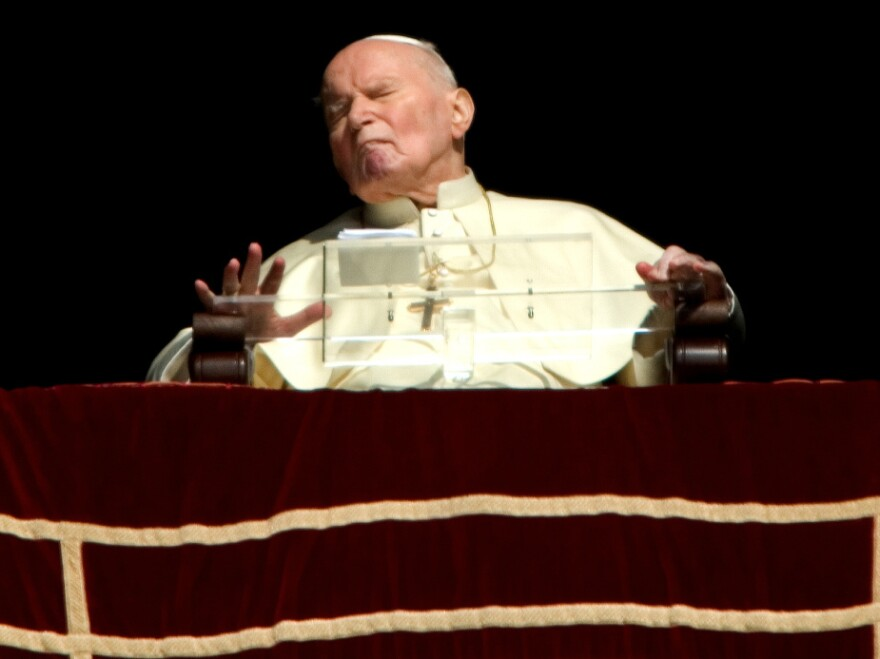Before his death in 2005, Pope John Paul II struggled to speak during his last messages to the faithful.