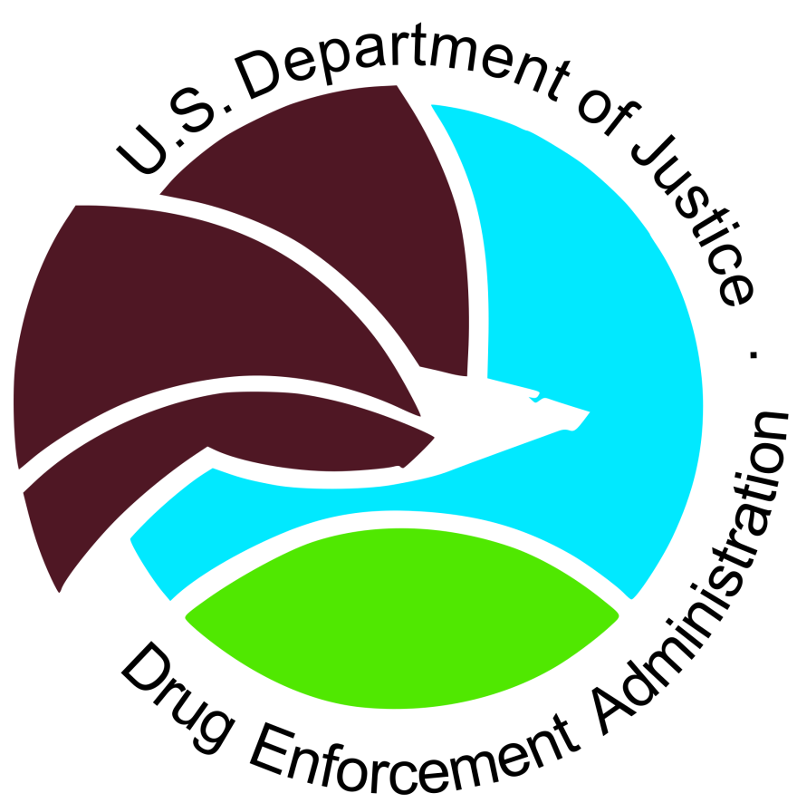 Photo of the U.S. Drug Enforcement Agency logo