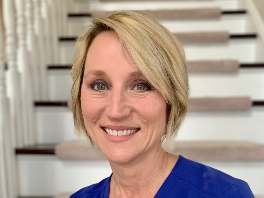 Michelle Schierling said her ER in Topeka, Kansas, has been strangely quiet in recent days, but she and her colleagues are bracing themselves as they watch what's happening in places like New York.