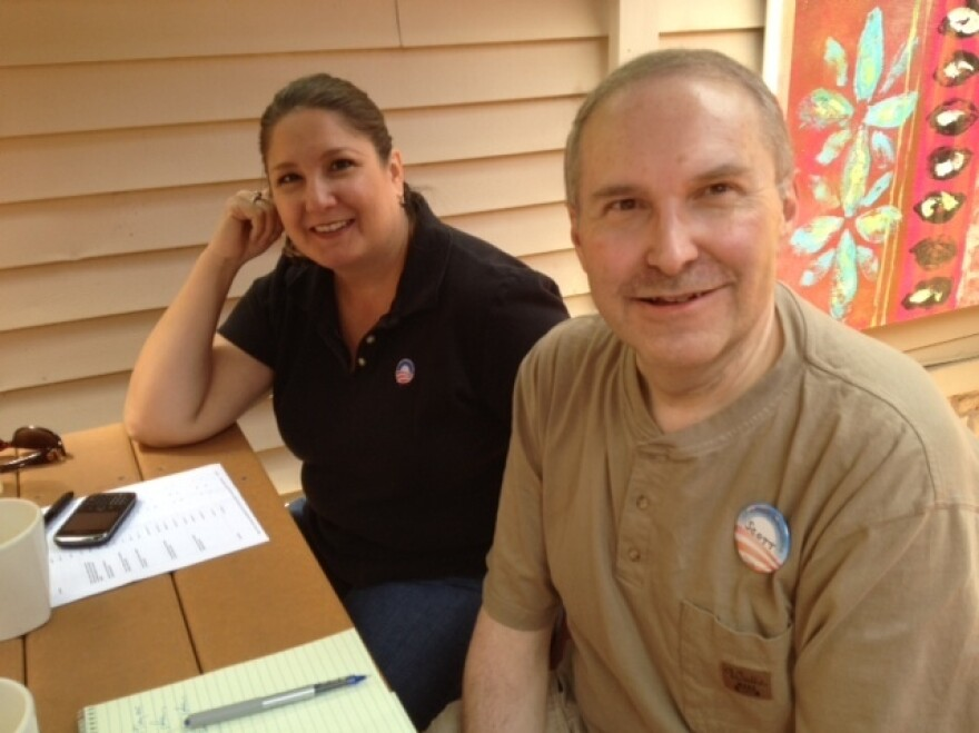 Kristin Hansen and Scott Trindl are Wisconsin volunteers with President Obama's re-election campaign.