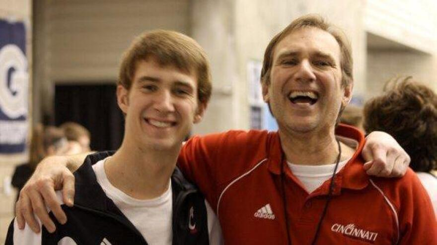 Nate Kramer was a tall, quiet college swimmer when he was diagnosed with leukemia. His father, Vince, says it was a difficult four years of chemotherapy, infections and operations.