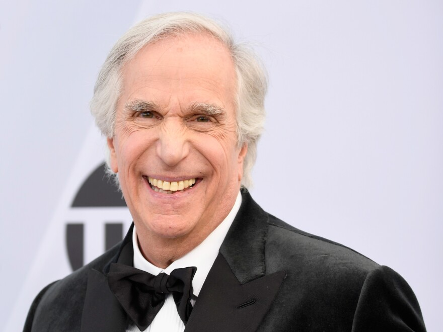 Henry Winkler attends the 25th Annual Screen Actors Guild Awards at The Shrine Auditorium on Jan. 27 in Los Angeles.