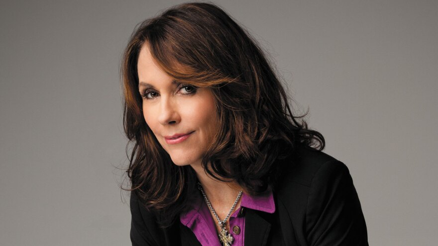 Author Mary Karr says she once broke her computer's delete key while writing a memoir.