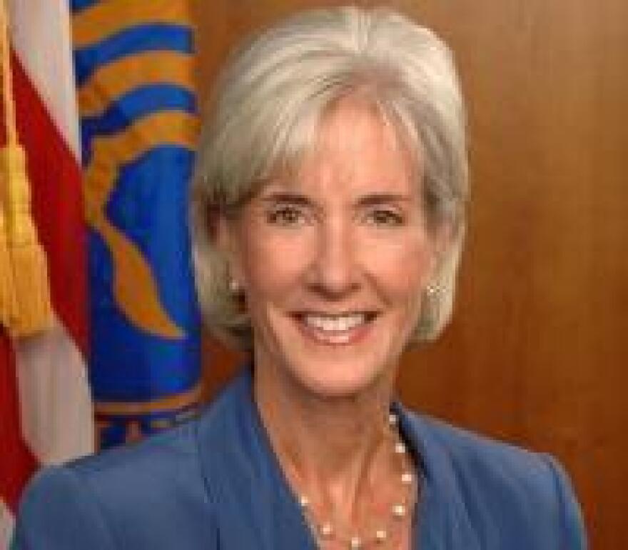 HHS Secretary Kathleen Sebelius