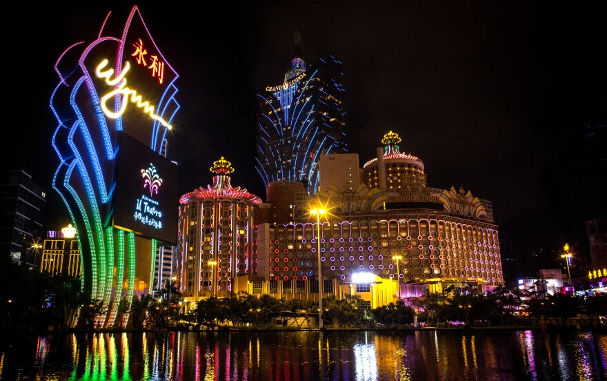 The casino strip in Macau has revenues roughly seven times its counterpart in Las Vegas. With China's government cracking down on corruption, the gambling business is down sharply.
