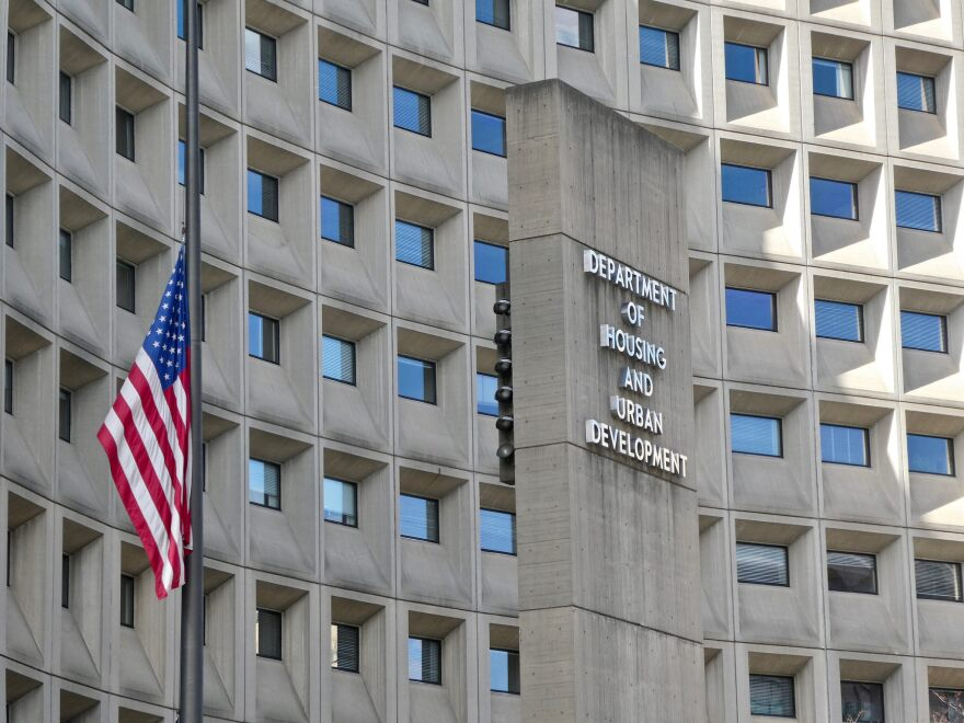The U.S. Department of Housing and Urban Development is closed due to the partial government shutdown.