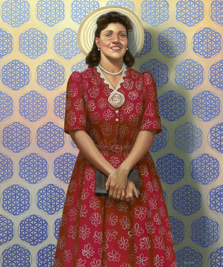 <em>The Mother of Modern Medicine</em> by Kadir Nelson, oil on linen, 2017.