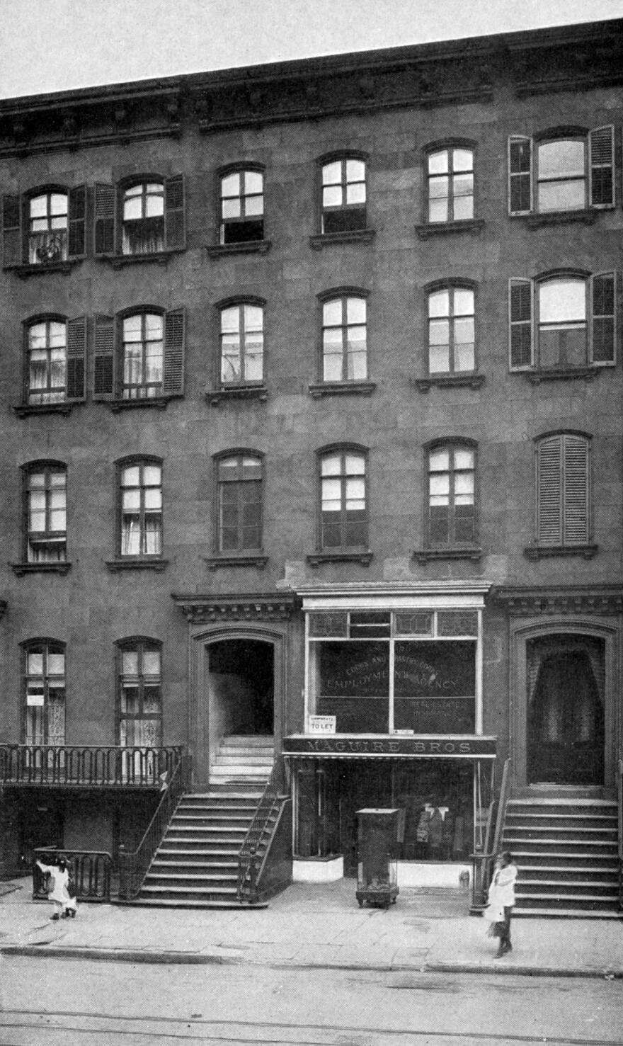 Former home of Chester A. Arthur, 123 Lexington Ave., New York City.