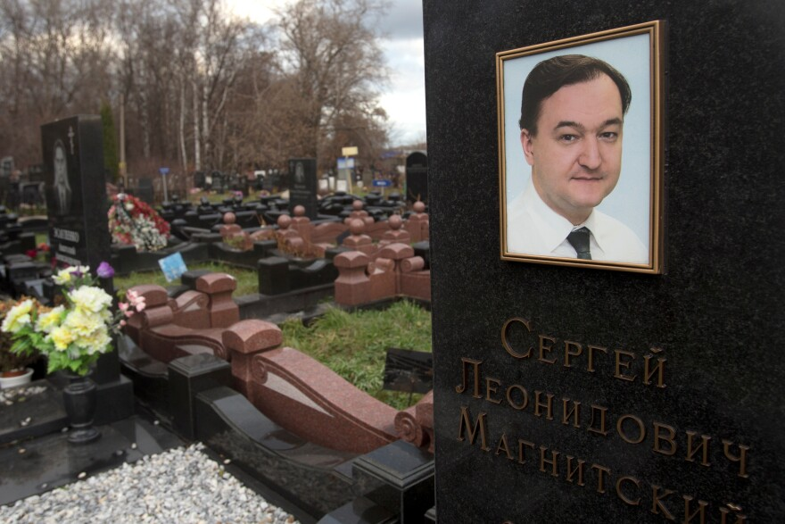 The U.S. law followed the death of lawyer Sergei Magnitsky who died in a Moscow prison in 2009 after accusing Russian officials of tax fraud.