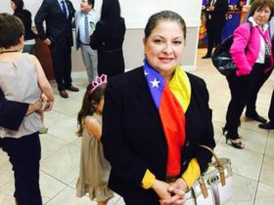 Venezuelan expat Nuvia Parra