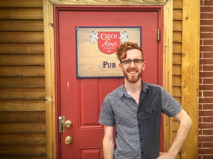 Max Hawkins' randomizer app sent him to the Czech Point Restaurant and Pub in Clutier, Iowa, among the many places he may never have found on his own.