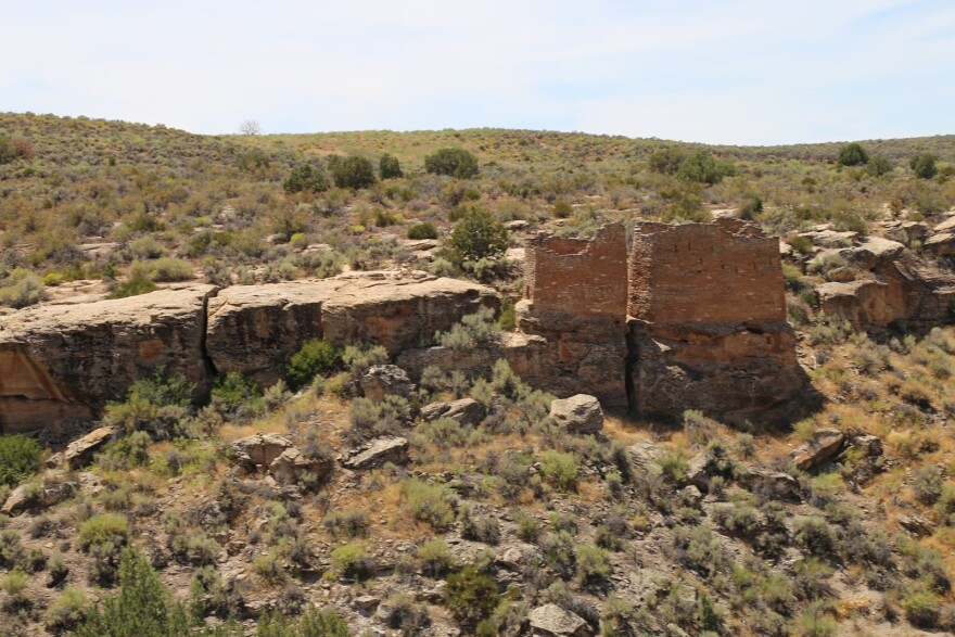 Photo of Hovenweep National Monument.