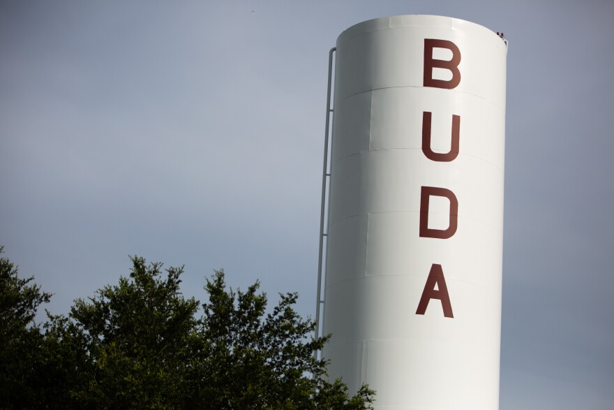 A water tower in Buda
