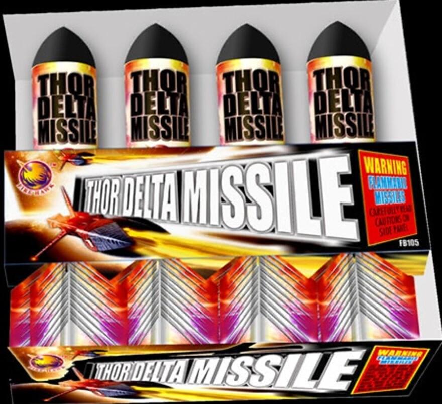 Thor Delta Missile
