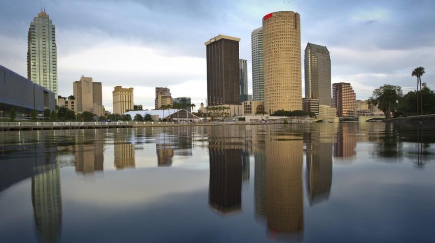 Tampa's skyline.