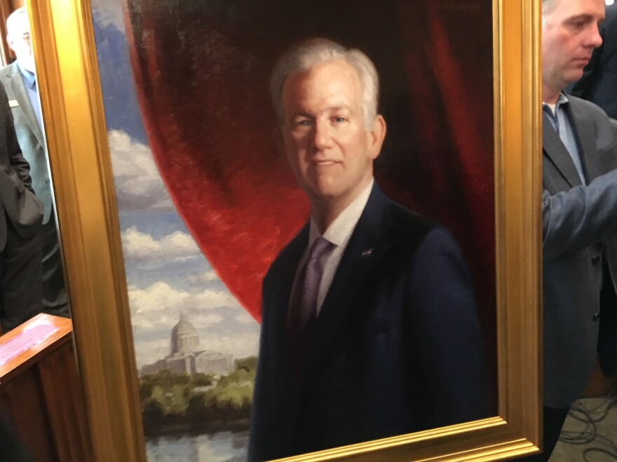 Nixon's portrait will likely hang with other Missouri chief executives on the first floor of the Missouri Capitol.