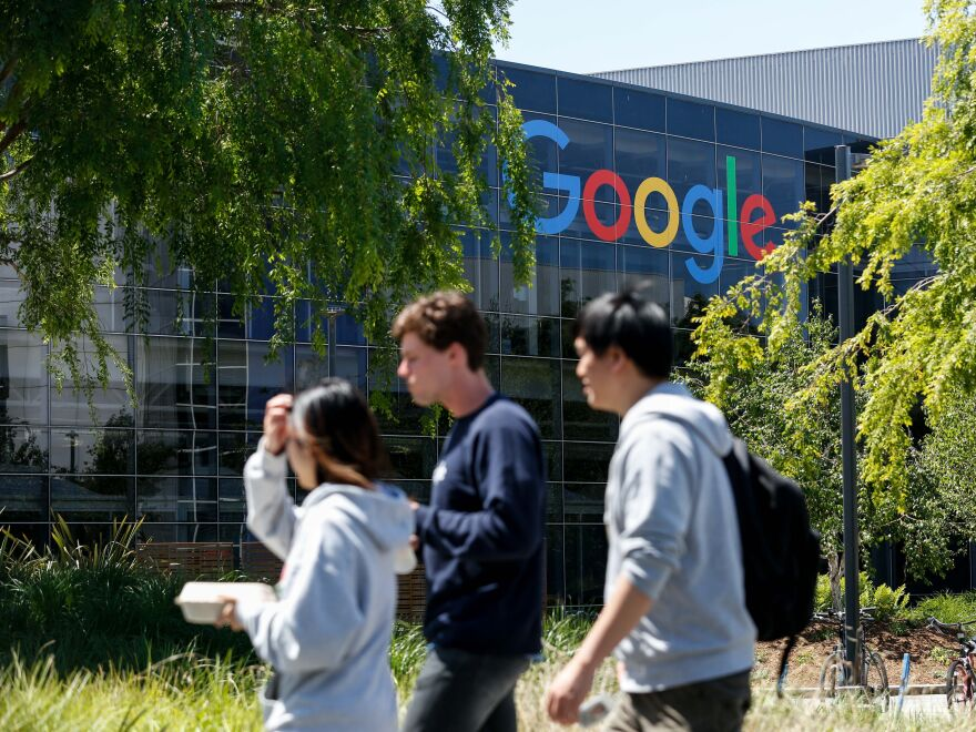 Google is among a growing number of American companies that are restricting employee travel as the coronavirus outbreak spreads.