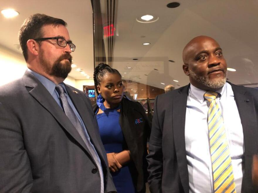 "Desmond Meade and Neil Volz, who work for a political committee that propelled the amendment to victory in November, called the measure ""disheartening"" and ""disappointing."""