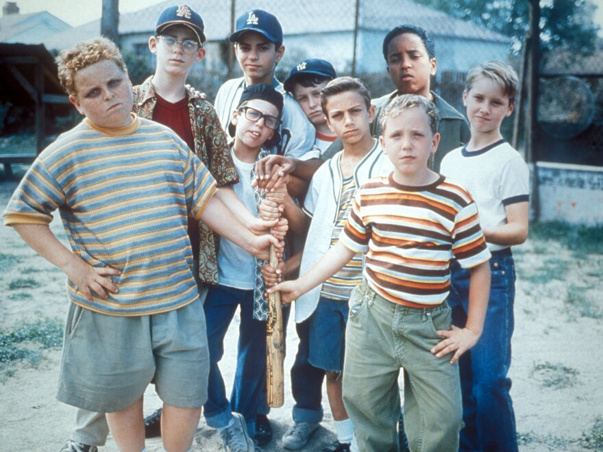 A promotional image for <em>The Sandlot</em>.