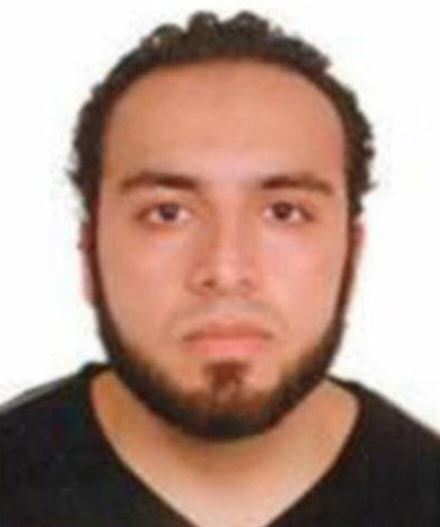 The FBI released this image of Rahami during its search for him earlier on Monday.