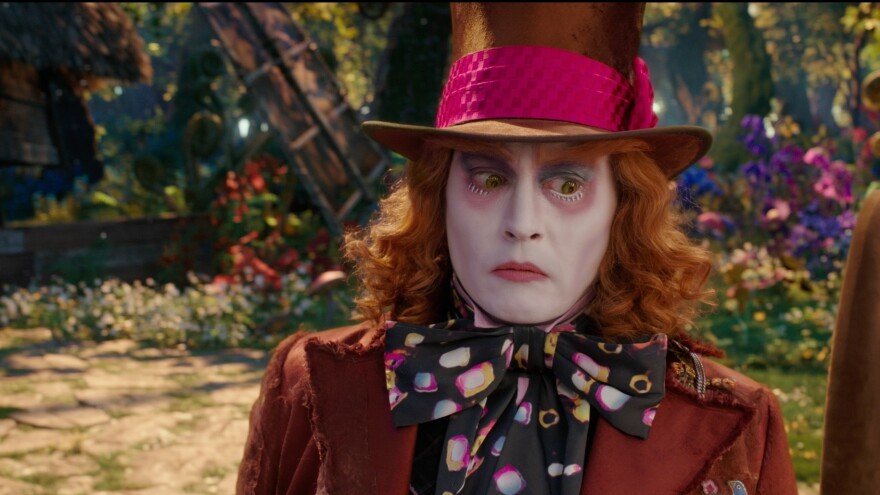 Johnny Depp in <em>Alice Through The Looking Glass</em>.