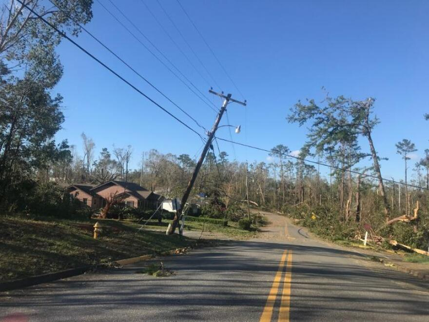 "the Florida Public Service Commission is responsible for carrying out details of a new ""storm protection"" law that supporters have touted as a way to reduce power outages when hurricanes hit. NEWS SERVICE OF FLORIDA"