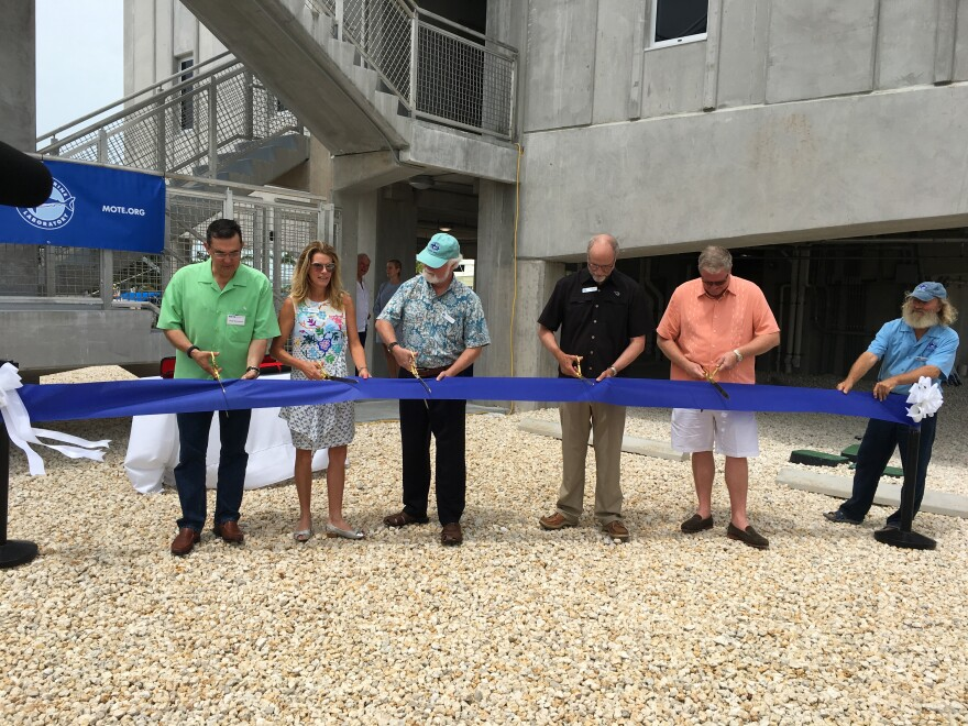 Mote Marine Laboratory held a ribbon cutting ceremony Thursday for its new International Center for Coral Reef Research & Restoration on Summerland Key.