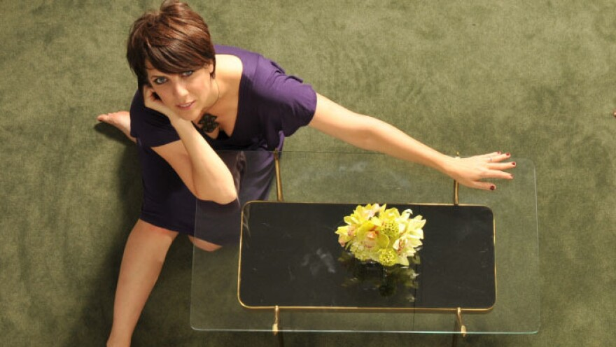 Kate McGarry's new album is titled <em>Girl Talk</em>.