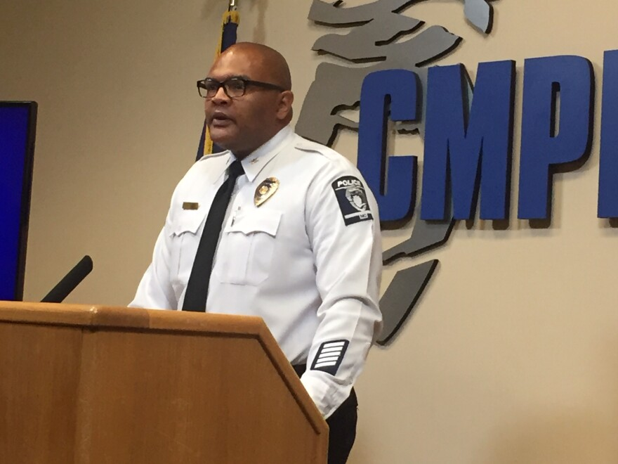 CMPD Deputy Chief Gerald Smith