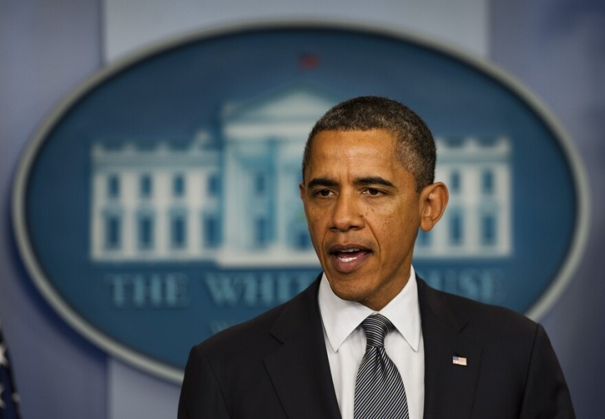 <p>President Barack Obama announces the end to US military operations in Iraq.</p>