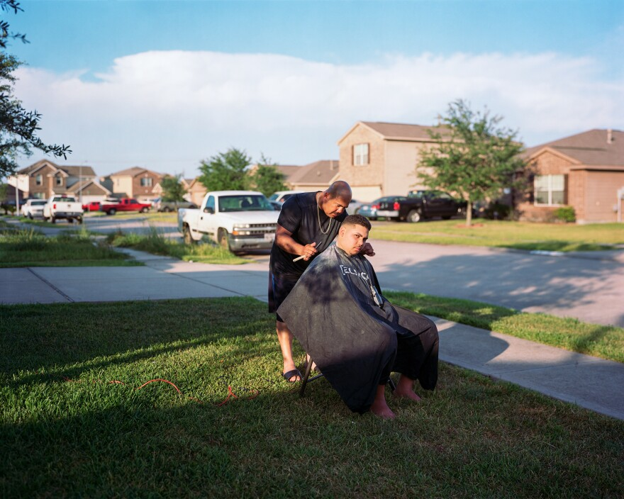 Emanuel and Yeddeh, Paradise Road, Baytown, Texas