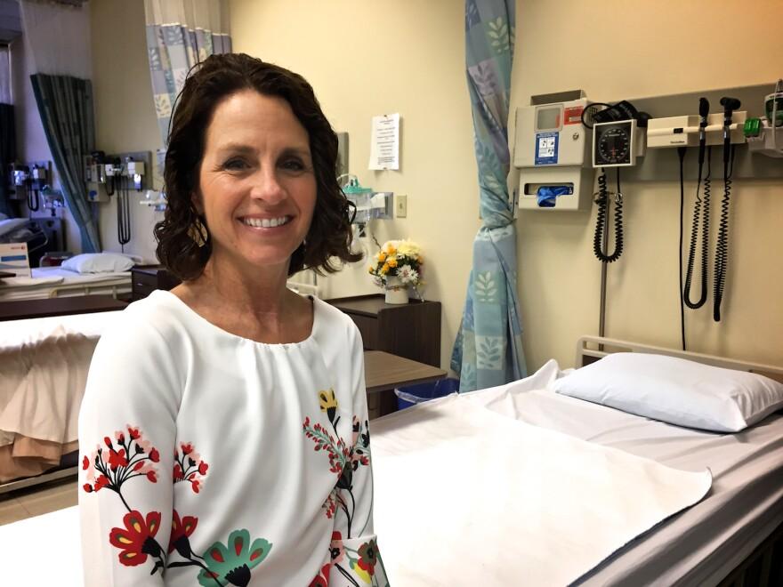 Kathy Kino is Assistant Professor of Nursing at Palm Beach Atlantic University in West Palm Beach.