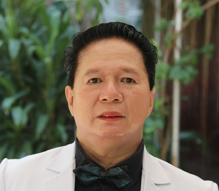 Dr. Ferdinand de Guzman, head of family medicine at San Lazaro Hospital in Manila, says this measles outbreak was so bad that at one point this year there were three patients per bed in some measles wards.