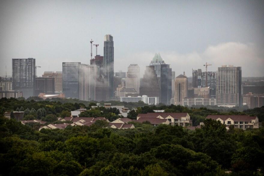 The City of Austin skyline.
