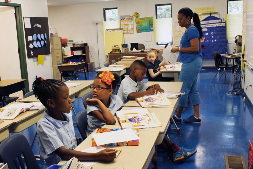 North Side community school classroom