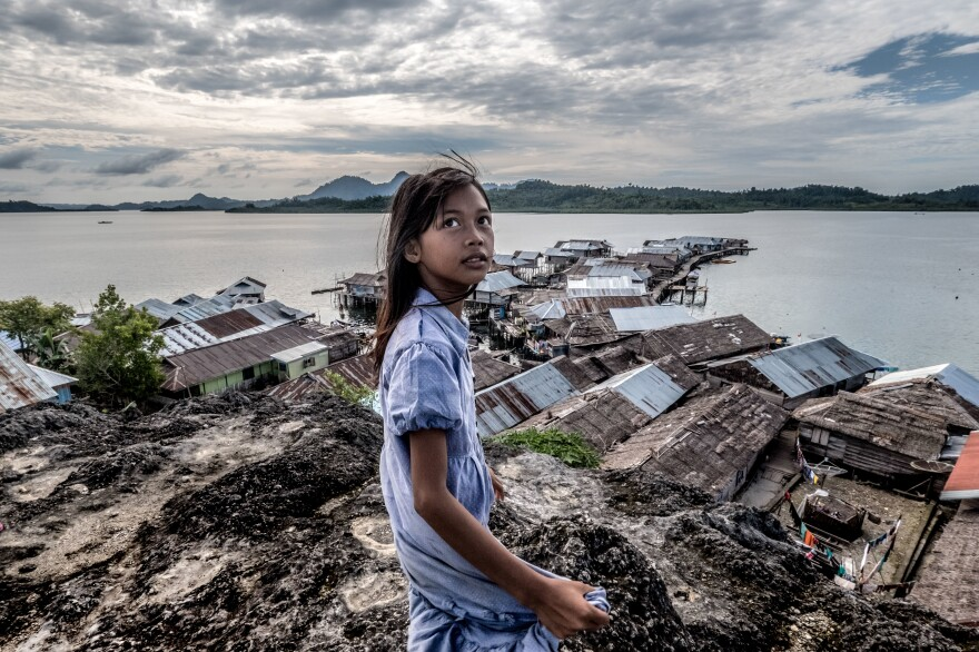 A seaside scene in Indonesia. As countries like Indonesia move up the income ladder, some health conditions improve — but new threats, like non-communicable diseases, loom large.