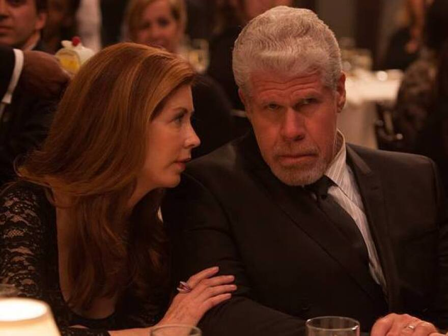 Dana Delany and Ron Perlman star as a judge and his wife in the Amazon Studios pilot <em>Hand of God</em>.