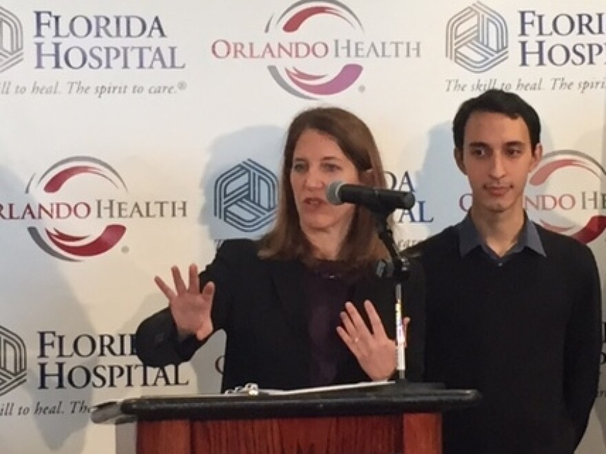 Health and Human Services Secretary Sylvia Burwell spoke Tuesday in Orlando.
