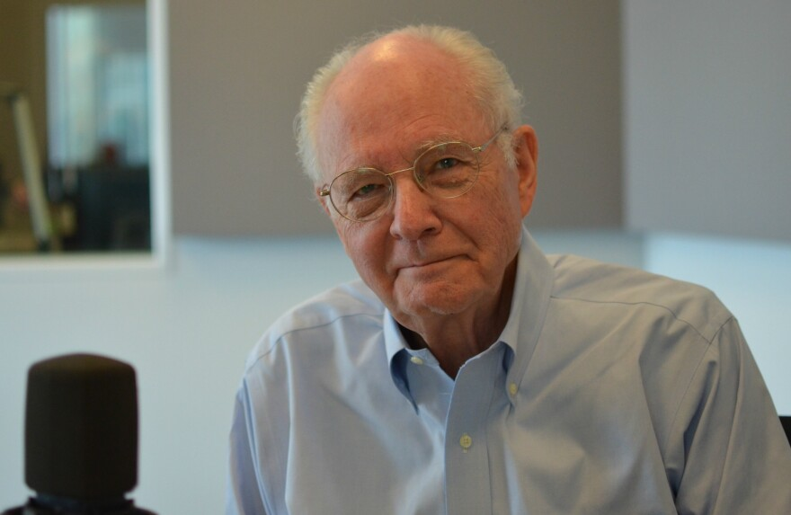 """Bill Siemering was instrumental in the founding of National Public Radio and the creation of """"All Things Considered."""" Today, he runs Developing Radio Partners."""