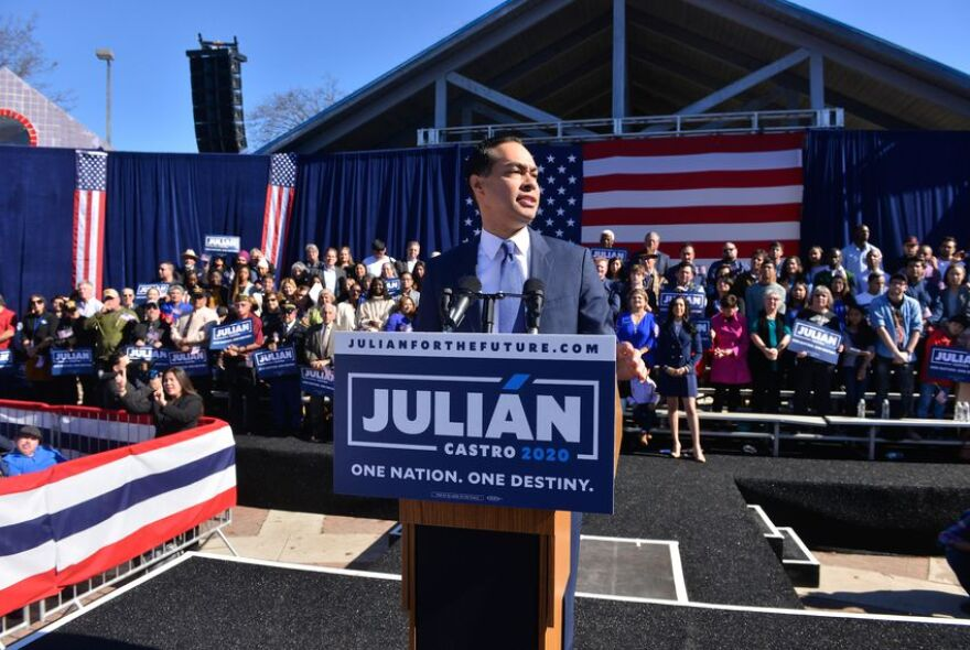 Julián Castro, the former Mayor of San Antonio and the former Director of House and Urban Development announced Jan. 12 that he is a candidate for the 2020 Democratic presidential nomination.