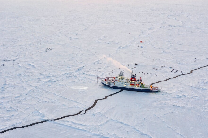 An international research expedition called MOSAiC studied how sea ice in the Arctic is changing, and what climate change in the Arctic means for the rest of the planet.