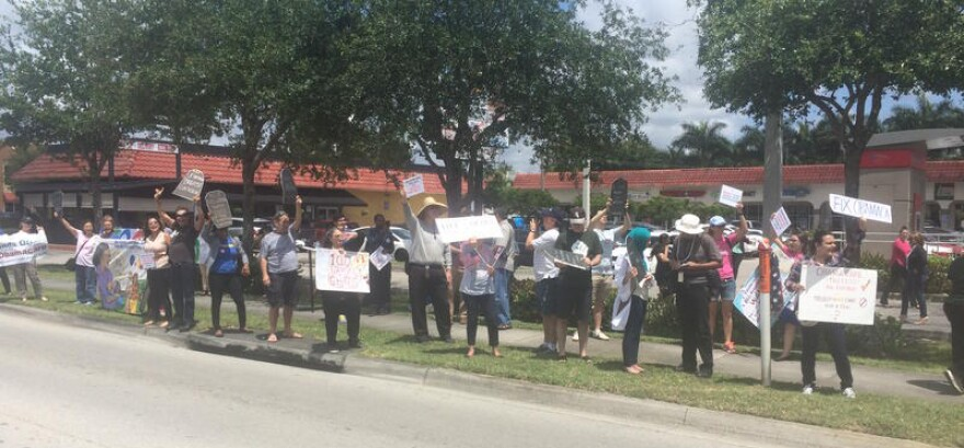 protest_curbelo_office.jpg