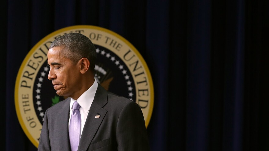 President Obama's legacy will take some time to determine, but on his way out, it's clear judgments about him have been split along party lines.