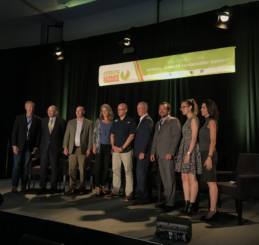 The 10th annual Southeast Florida Regional Climate Leadership Summit brought together more than 300 people from cities, counties, businesses and non-profits.