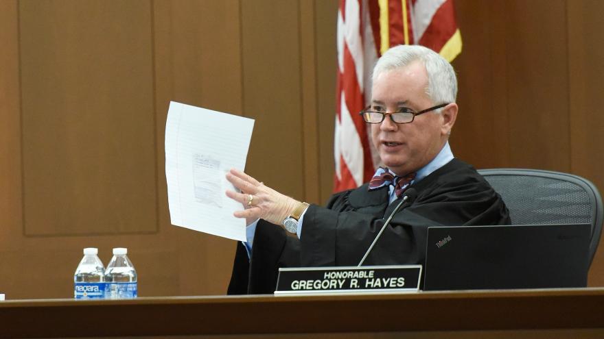 Judge Gregory R. Hayes