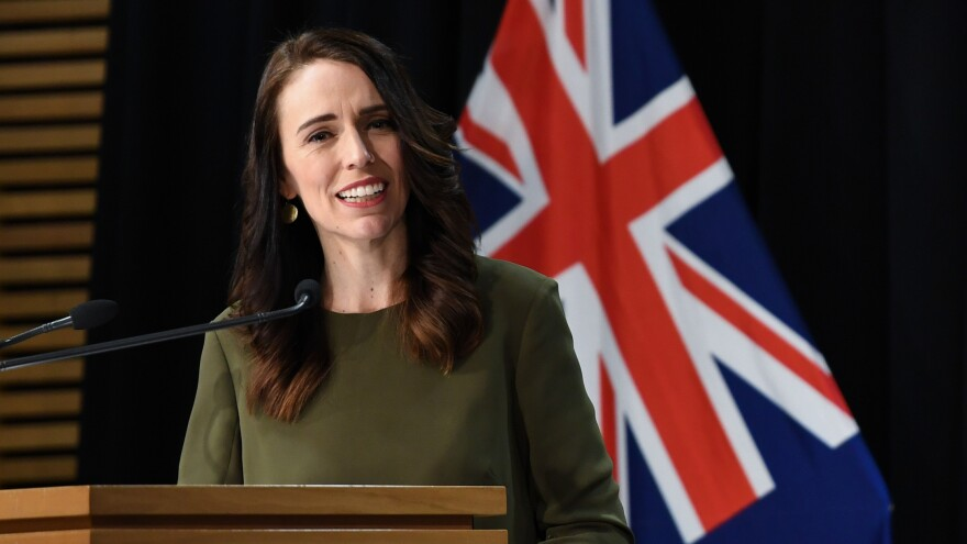 """I don't think there's any comparison between New Zealand's current cluster and the tens of thousands of cases that are being seen daily in the United States,"" New Zealand Prime Minister Jacinda Ardern said on Tuesday."