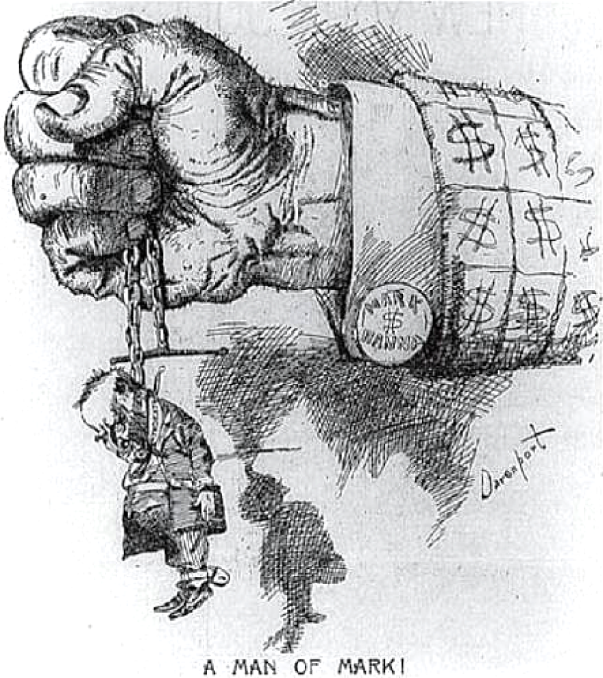 Hanna-McKinley cartoon