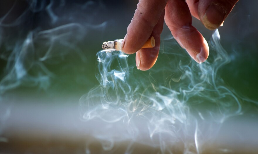Smoking is the No. 1 cause of death among people with severe mental illness.