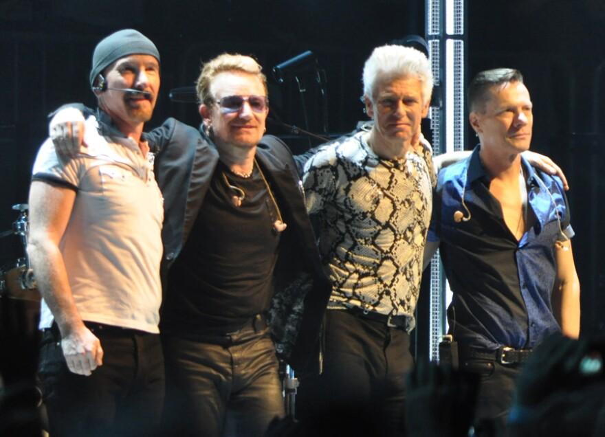 U2 to play Cleveland