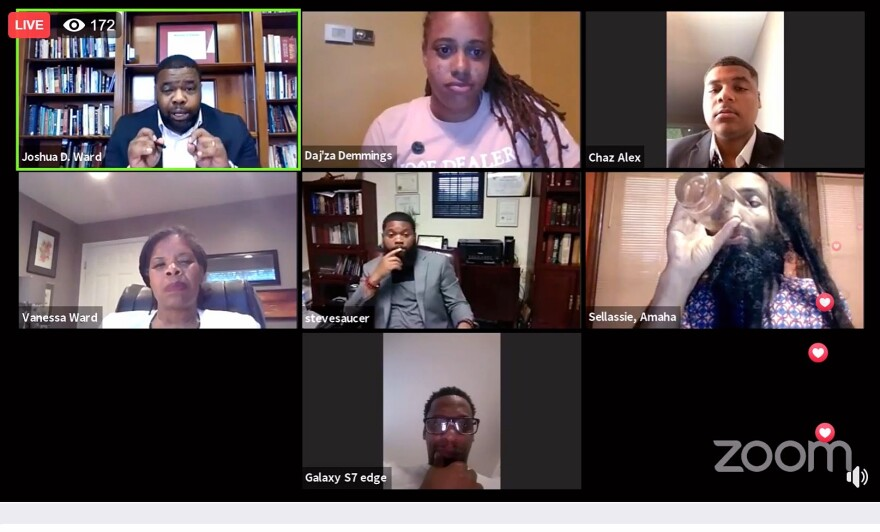 A sign of the times: leaders from Datyon's black community host a virtual roundtable to discuss what needs to be done in the wake of this week's protests.